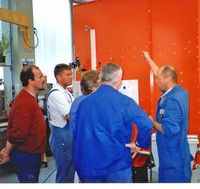 Practical  trainings on the filter units